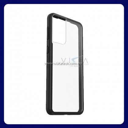 [VistaTech] OtterBox React Samsung Galaxy S21 Plus + 5G Black Crystal Military Grade Phone Cover Protective Casing 77-81573