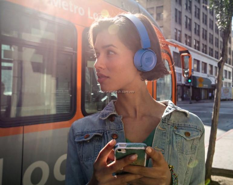 Jbl T450bt Wireless On Ear Headphones Blue