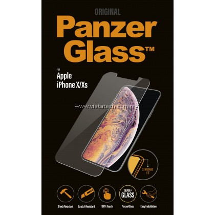 PanzerGlass Tempered Glass Standard Fit IPHONE X/XS