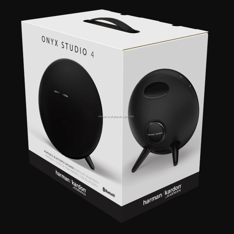 FREE Shipping Harman Kardon Onyx Studio 4 Portable Bluetooth Speaker Black